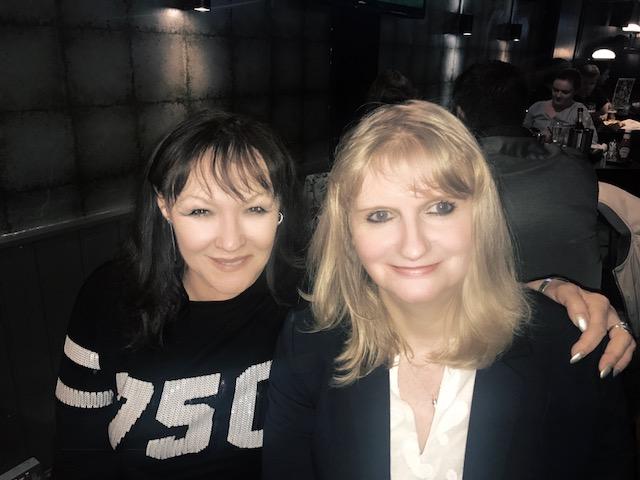 risha and Frances Barber 3