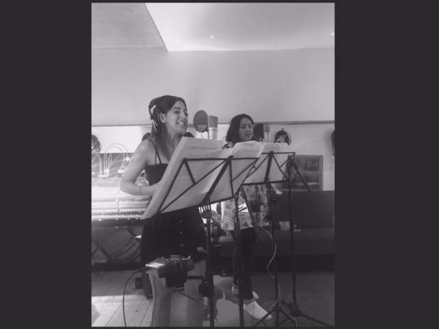 Recording Session Girls