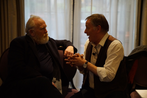 James Cosmo and Norman